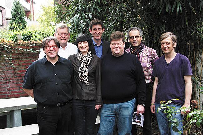 Gruppenfoto Bezirksvertretung Mitte
